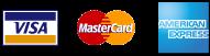 VISA/MASTER CARD AMERICAN/EXPRESS