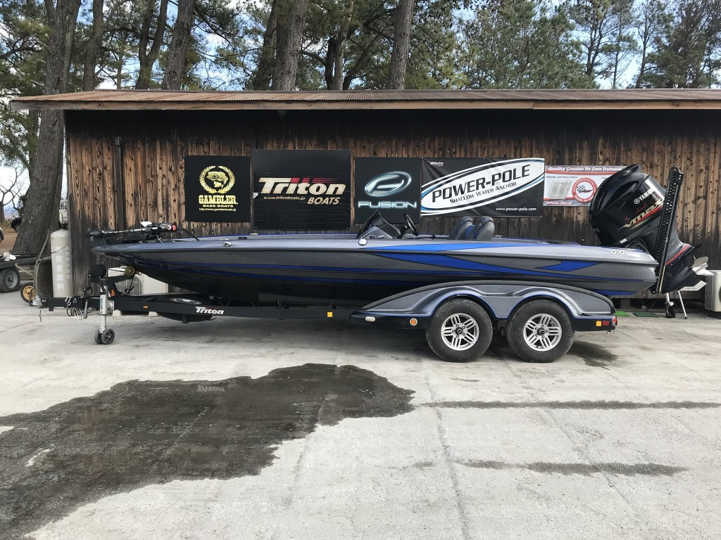 SOLD OUT  '16 Triton boats 21TRX ELITE with SHO 275 HE-9000プレゼント中