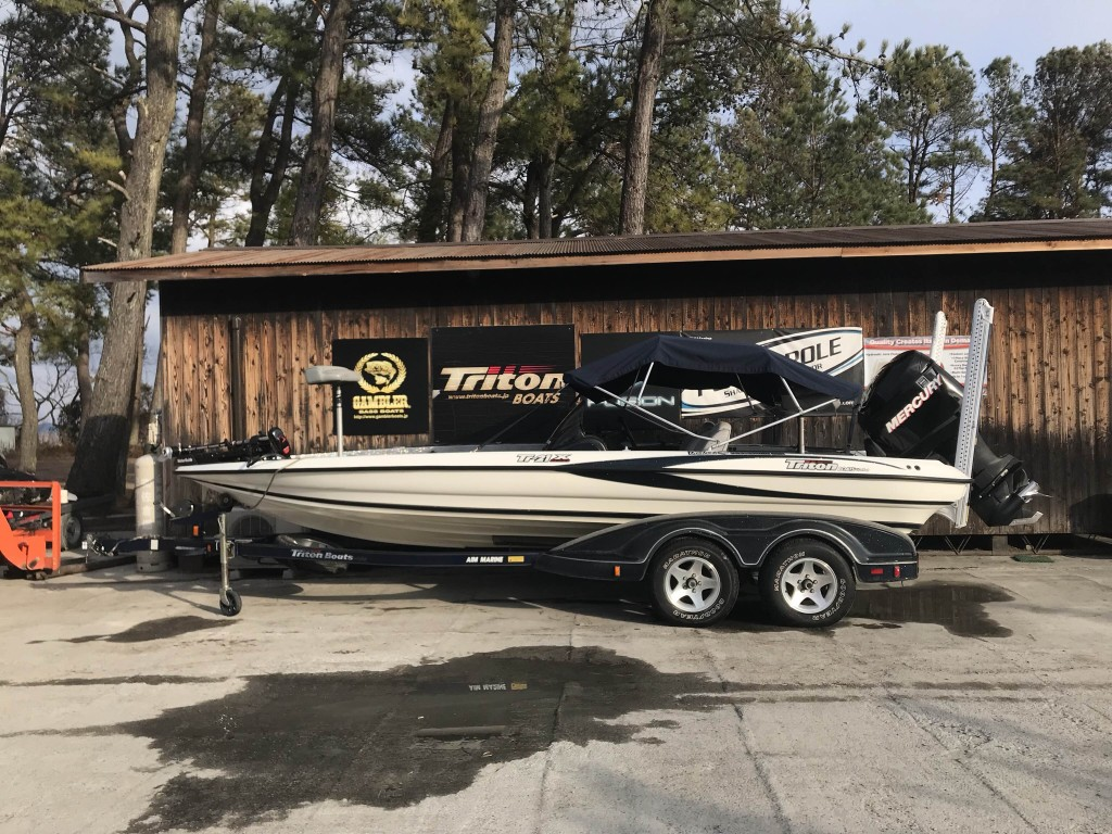 SOLD OUT '04 Triton Boats 21X with Optima 225L