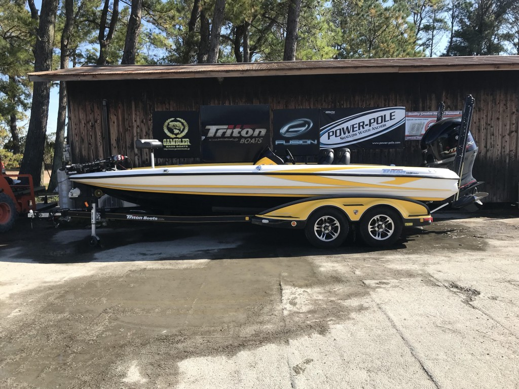 '15 Triton boats 21TRX ELITE with SHO275