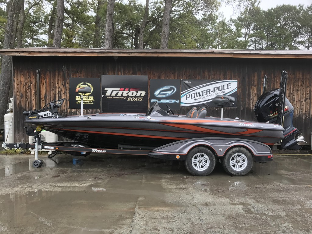 '16 Triton Boats 20TRX ELITE with SHO275