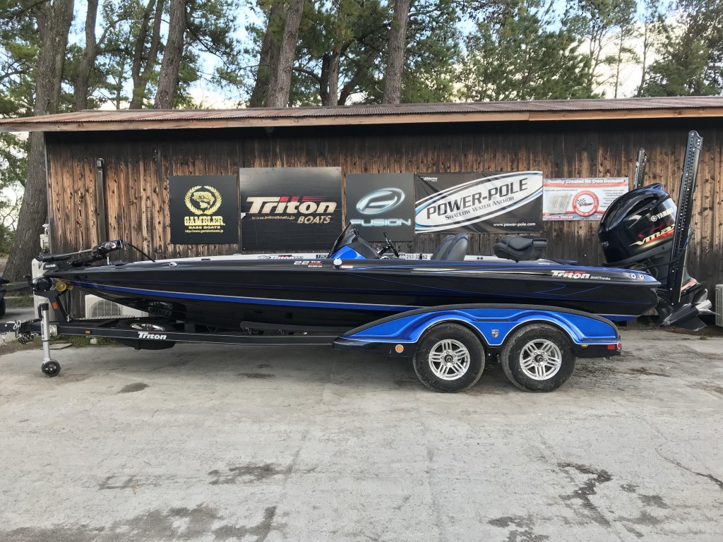 SOLD OUT Triton boats 22TRX ELITE with SHO 275