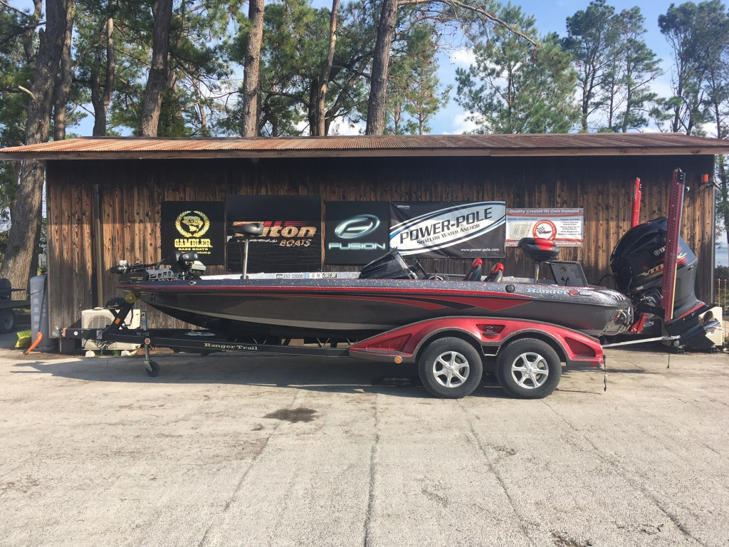 '13 RANGER BOATS Z520C COMANCHE with SHO275