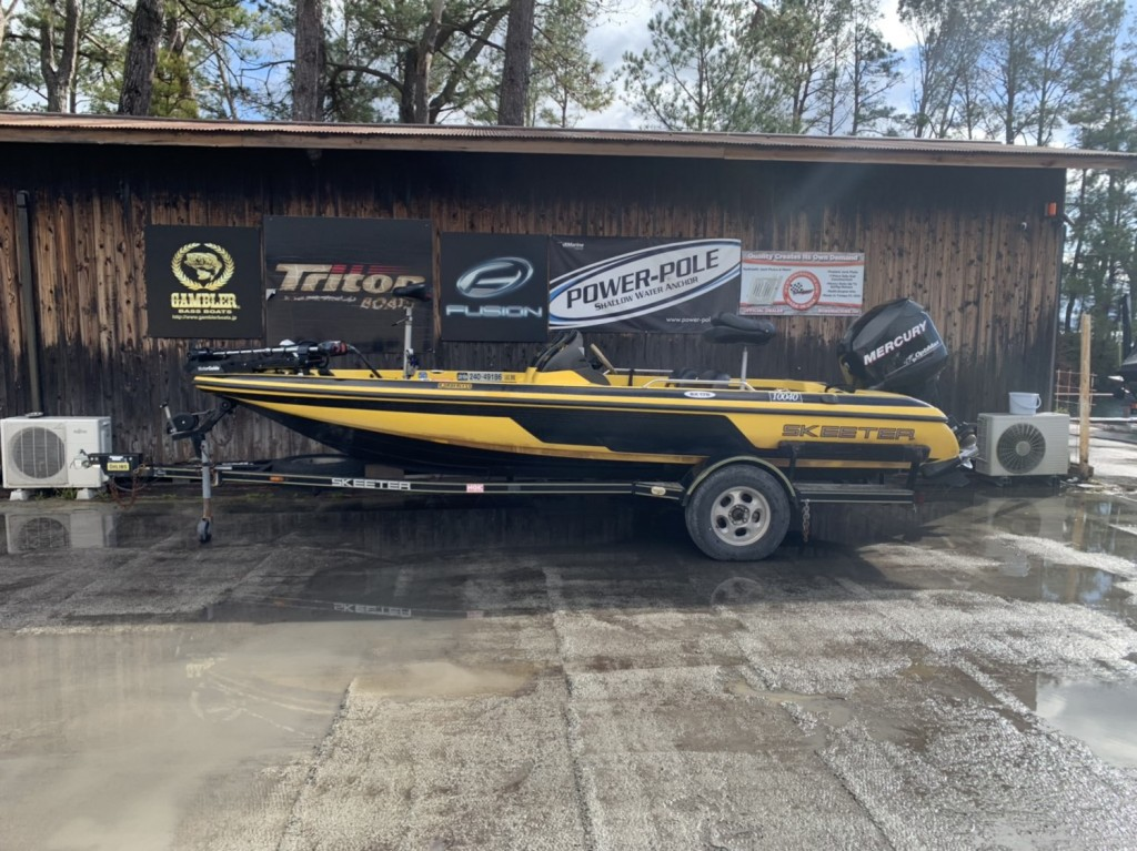 PRICE DOWN '99 SKEETER SX176 with OPTIMAX 115