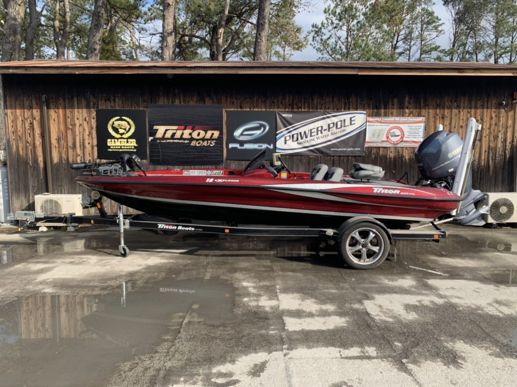 SOLD OUT '12 Triton Boats 18EXP with YAMAHA F150