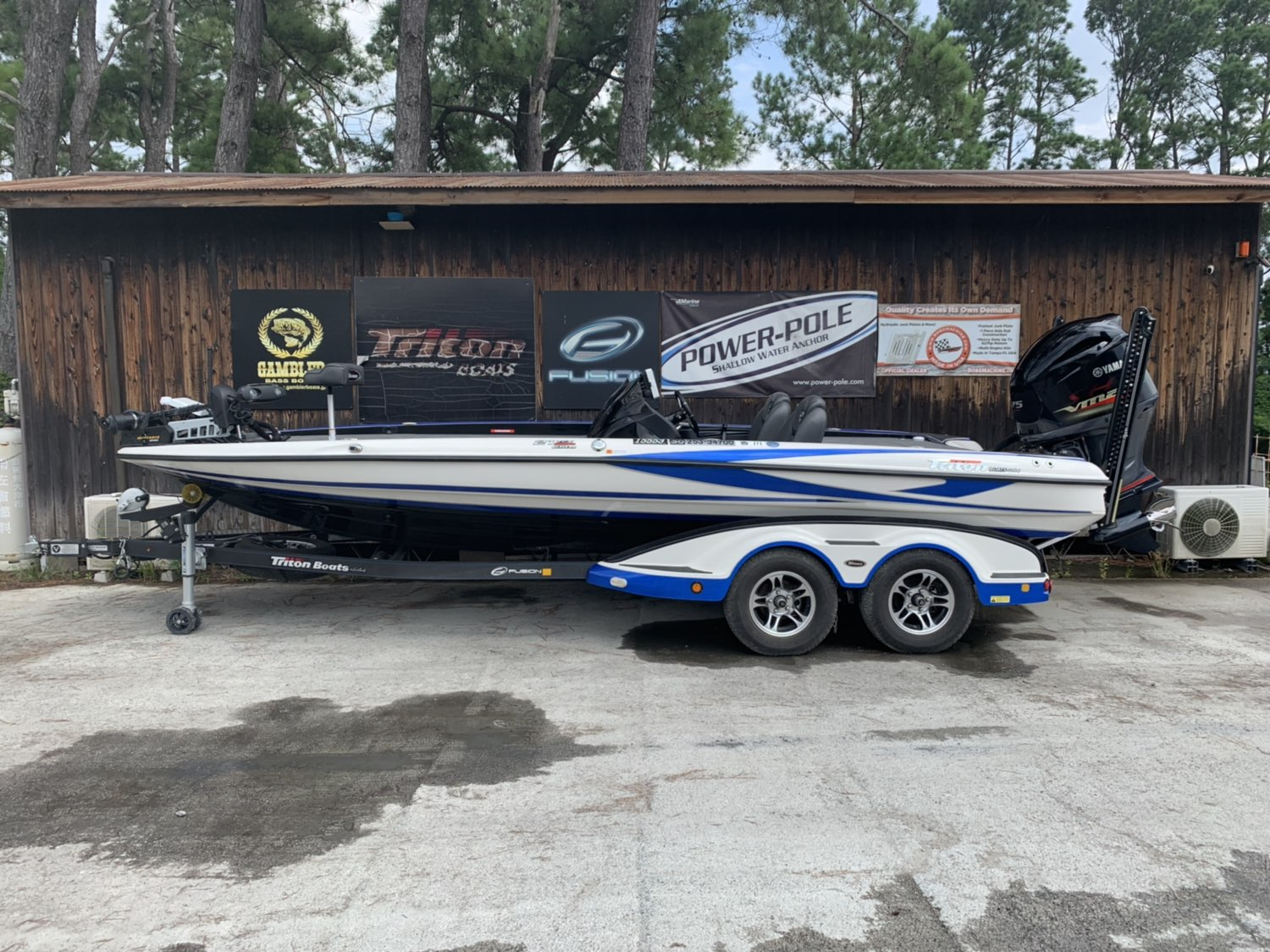 '17 Triton Boats 21TRX ELITE with SHO275