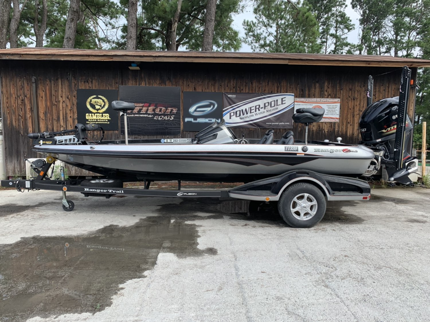 Sold out '15 Ranger Boats  Z119C with SHO250
