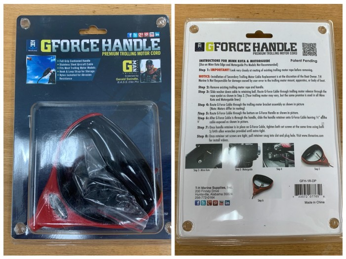 【G-Force Handle – Red Handle】