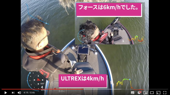 FUSION BOATS CHANNEL ULTREX VS FORCE