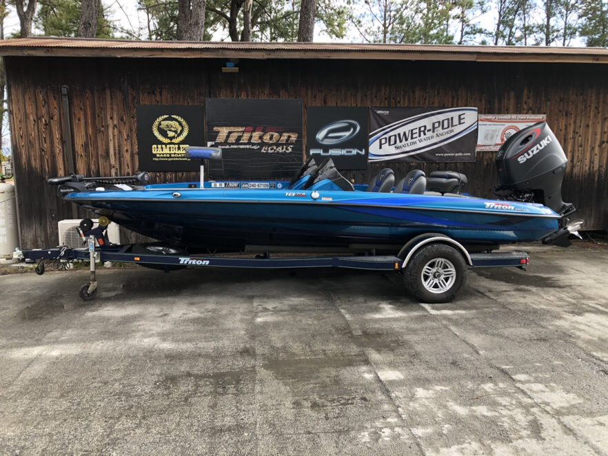SOLD OUT '17 Triton Boats 18TRX with DF200A