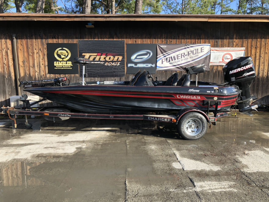 SOLD OUT  '99 Charger Boats  with OPTIMAX 150
