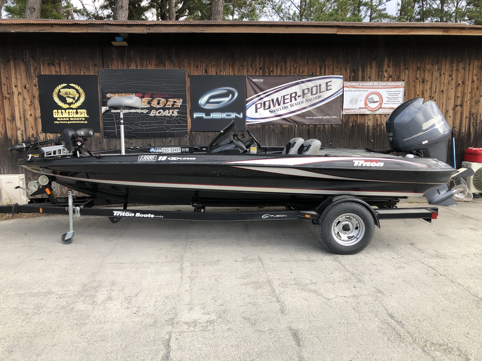 Sold out  '12 Triton Boats 18EXP with F150