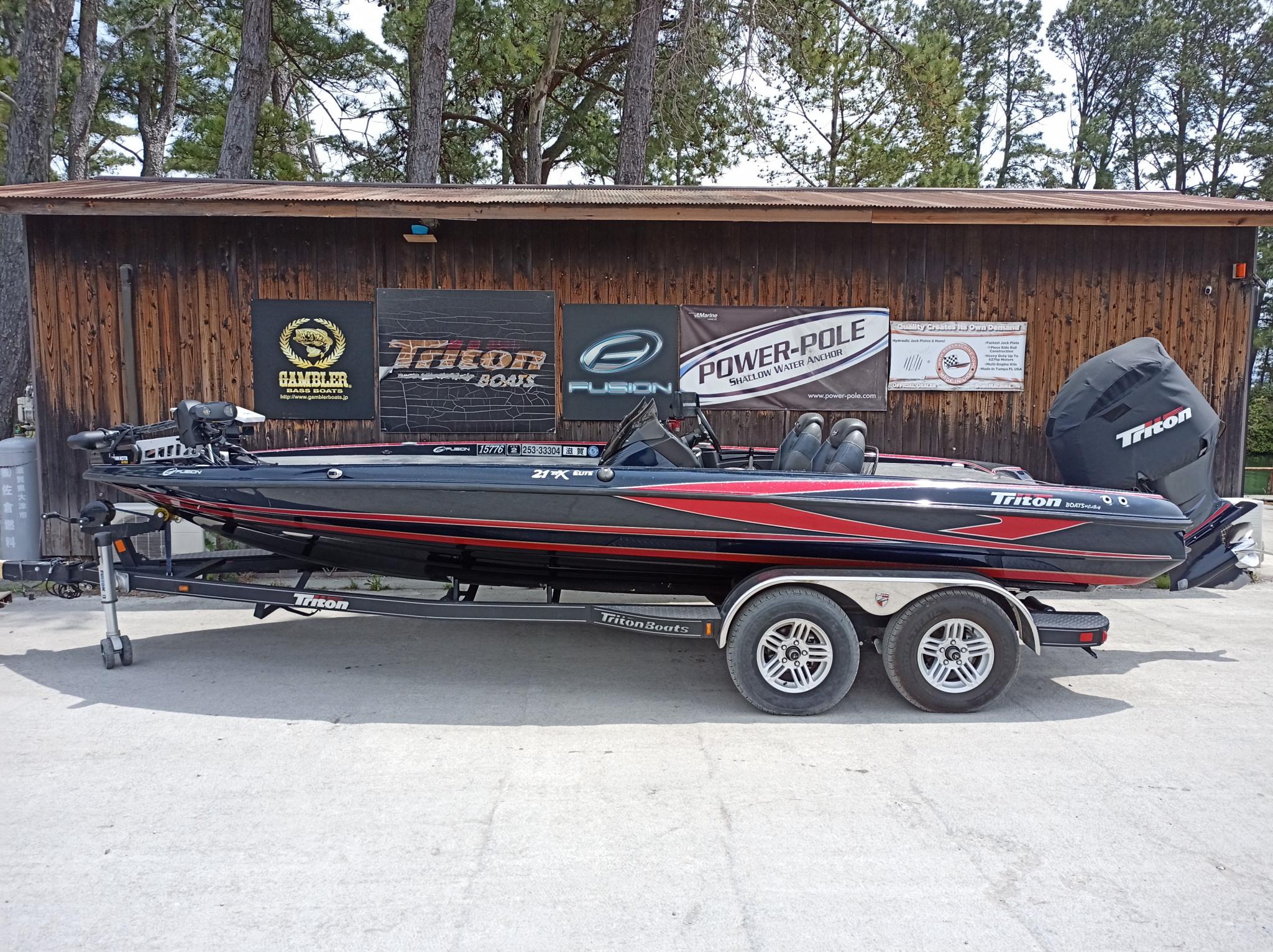 年末まで保管料サービス '14 Triton Boats 21TRX with SHO275