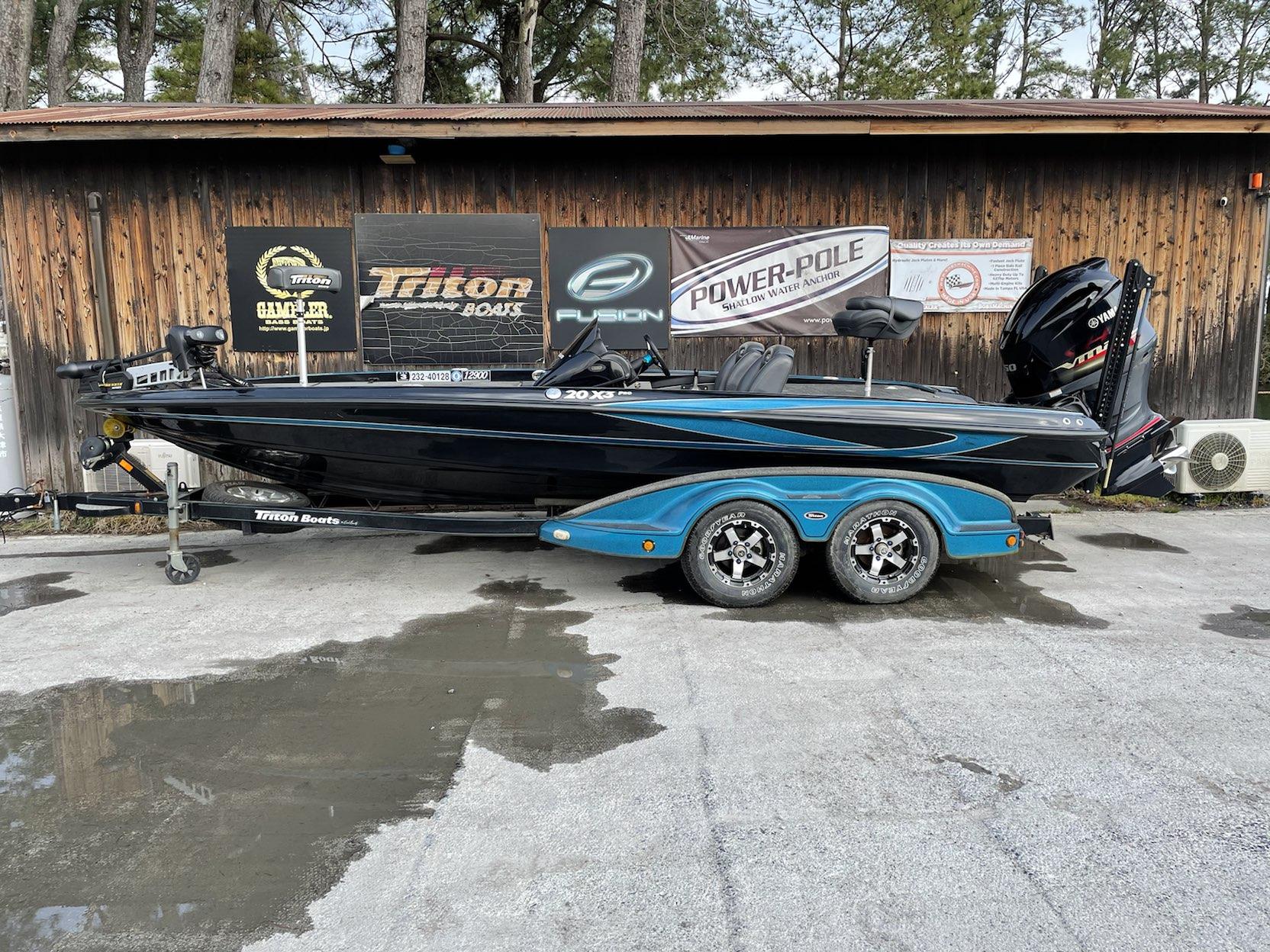 2022年末まで保管料サービス '09 Triton Boats 20X3PRO with SHO250