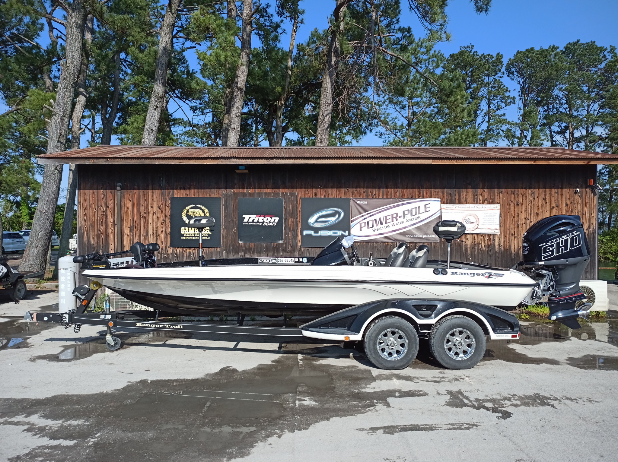 SOLD OUT '12 Ranger Boats Z521 Comanche with SHO275